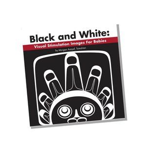 Black And White Visual Stimulation Images for Babies - Board Book